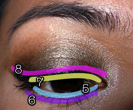mac style black collection tutorial eyemap-2