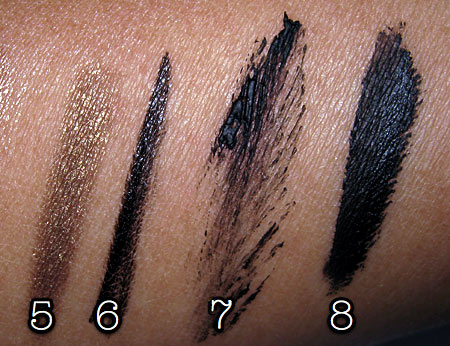 mac style black collection tutorial swatches 2