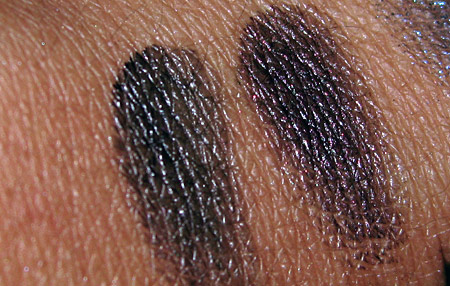 mac style black swatches black bat black