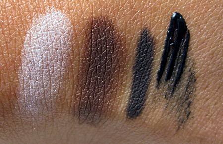 shiseido fall 2009 swatches