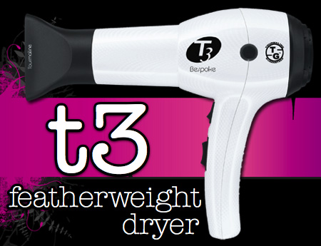 t3 featherweight dryer