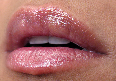 yes to carrots c me shine lip gloss review rose bliss