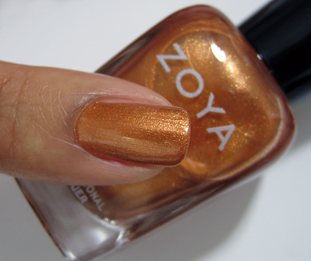 zoya truth swatches Penny