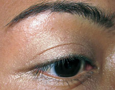 Bobbi Brown Earth Metal Palette Swatches Sunset Gold Metallic eye-5