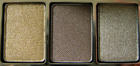Bobbi Brown Earth Metal Palette Swatches pan-1