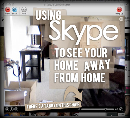 Using Skype to See Your Home Away from Home