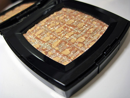 chanel holiday 2009 makeup collection golden cage les tissages