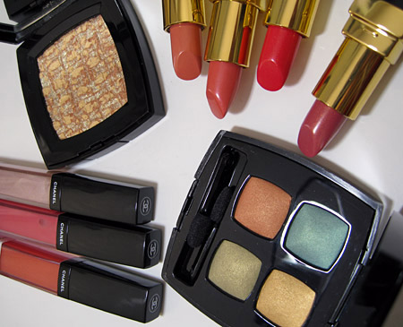 chanel holiday 2009 makeup collection golden cage