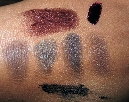chanel noirs obscurs swatches