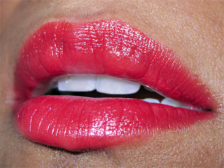 estee lauder ultimate red lip swatch 1