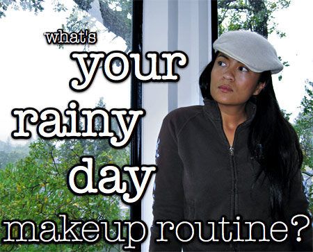 rainy-day-makeup-routine