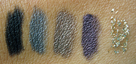 urban decay stereophonic swatches