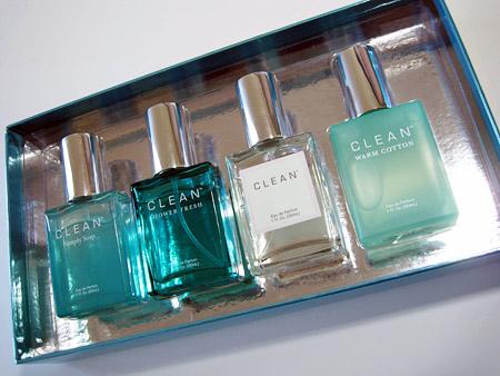 Clean Coffret Set Review in box