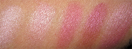 Clinique Black Tie Violets swatches-shimmer-strips