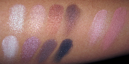 Lorac Silver Screen Palette Swatches all