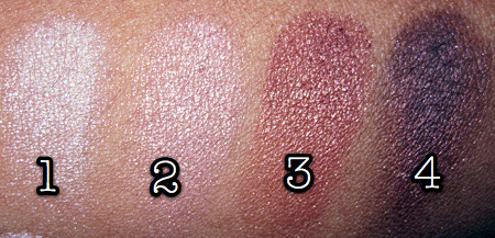 Lorac Silver Screen Palette Review warm swatches