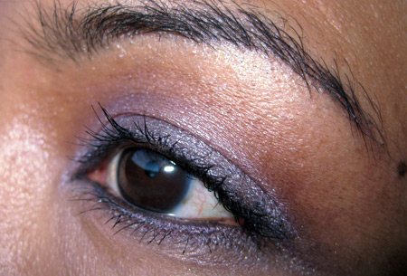 clinique black tie violets fotd eye