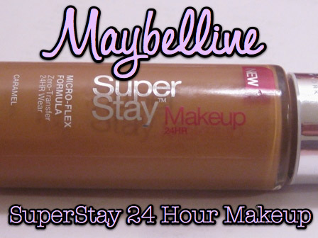 Maybelline SuperStay 24HR Makeup: Staying Where It's Put - Makeup ...