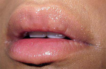 stila kitten lip glaze swatch