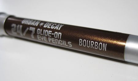 urban decay bourbon 24 7 glide on eye pencil