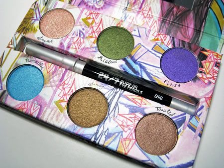 urban decay show pony palette open