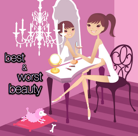 best and worst beauty