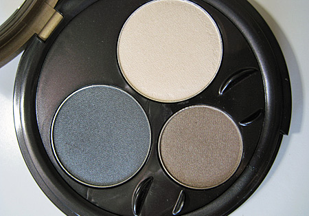smokey eyes close up. Eyes palette closeup 2