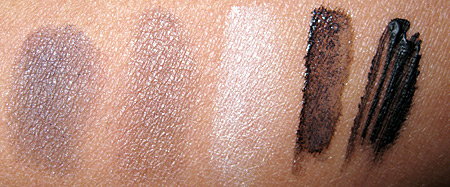 Sally Hansen Natural Beauty Perfect Smokey Eyes swatches