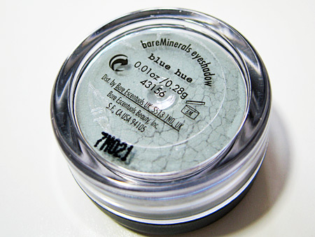 bare minerals face fashion blue hue