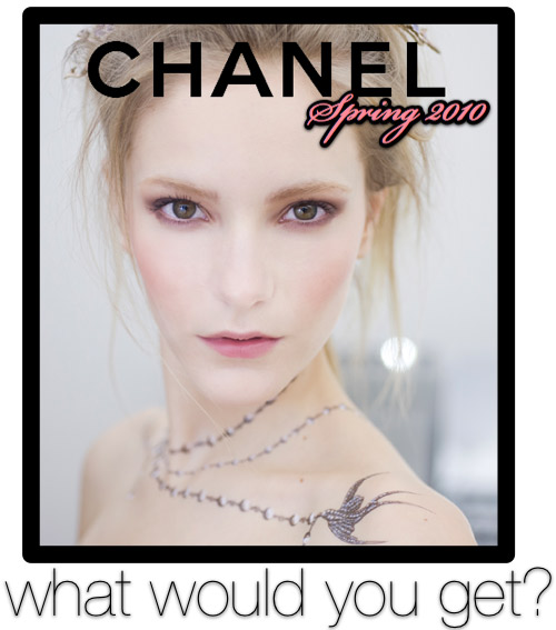 chanel spring 2010 makeup collection