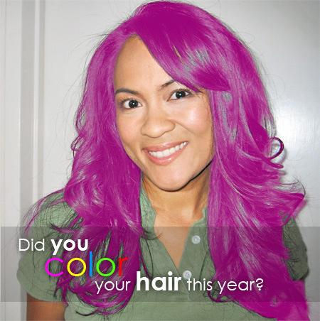 Did you color your hair this year?