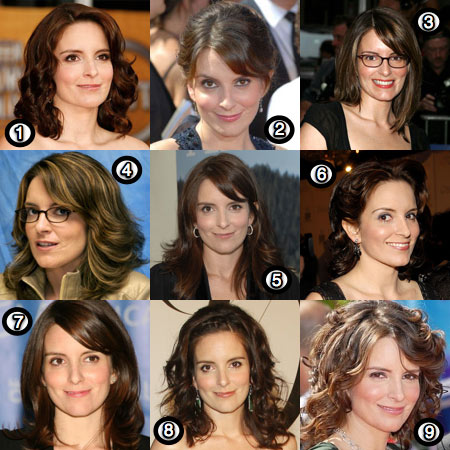 tina fey: her best hair?