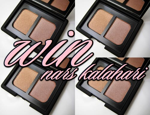 two ways to win the nars kalahari duo