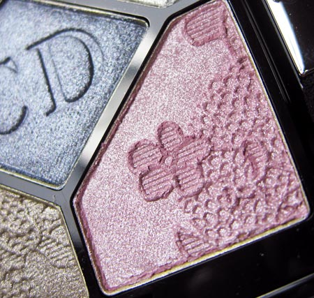 Dior Lace Reviews Swatches Dentelle Eyeshadow Pearl Glow