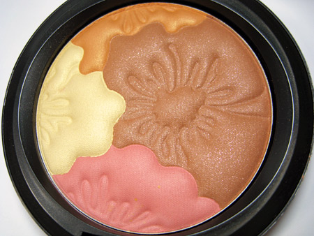 mac in lillyland lilly pulitzer collection swatches reviews pearlmatte face powder 2