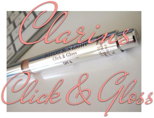 Clarins Instant Sun Light Click & Gloss SPF 6