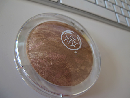 the body shop nomadic goddess makeup collection
