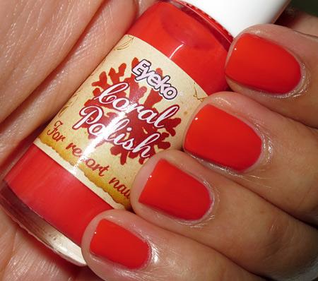 eyeko coral polish