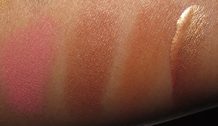 mac to the beach swatches