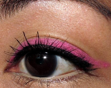 tokidoki makeup pink liner tutorial eye final