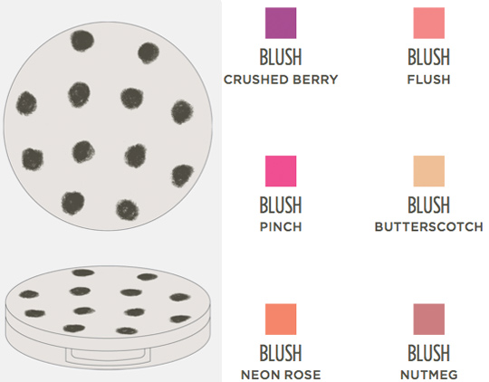 topshop makeup collection blush