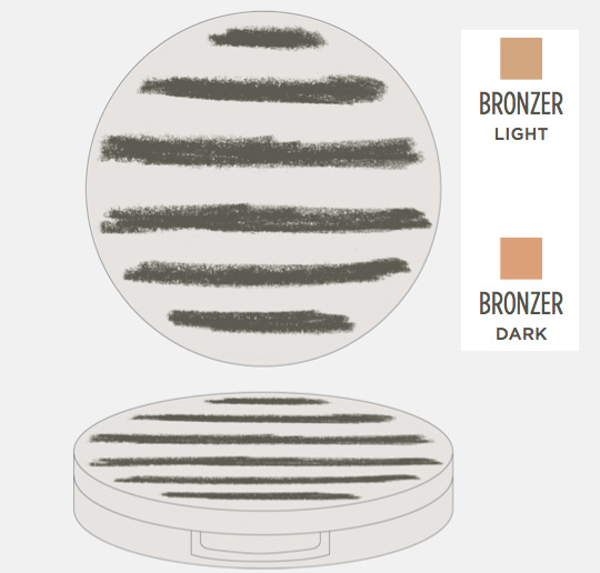 topshop makeup collection bronzer