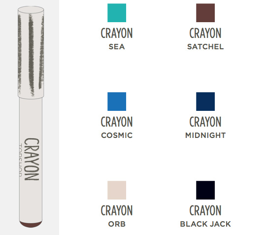 topshop makeup collection crayon