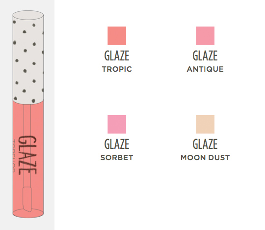 topshop makeup collection glaze