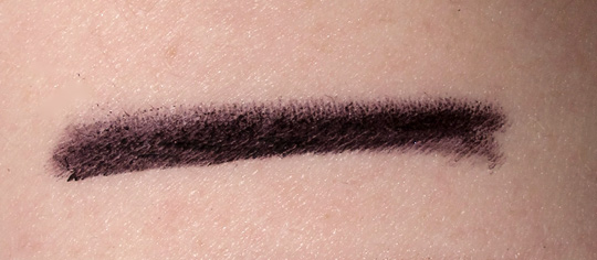 Chanel Cassis Long Lasting Eyeliner Review Swatches Photos nw20 skin