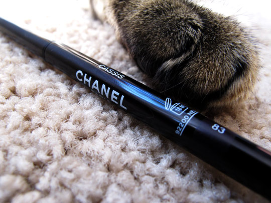 Chanel Cassis Long Lasting Eyeliner Review Swatches Photos