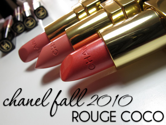 Chanel Les Contrastes de Chanel Collection Fall 2010 Rouge Coco
