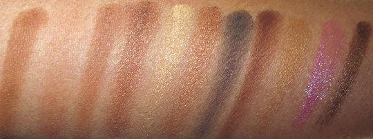 NYX Bronze Look Kit Review Photos Swatches nc35