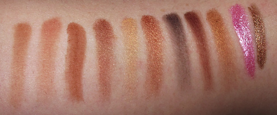NYX Bronze Look Kit Review Photos Swatches nw20