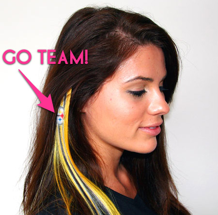 Hair do or dont colorful clip in hair extensions in your teams just pmusecretfo Choice Image
